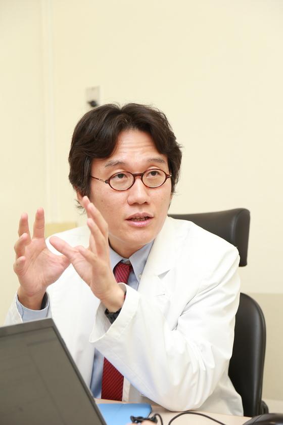 서울대병원 호흡기내과 임재준 교수.[중앙포토]