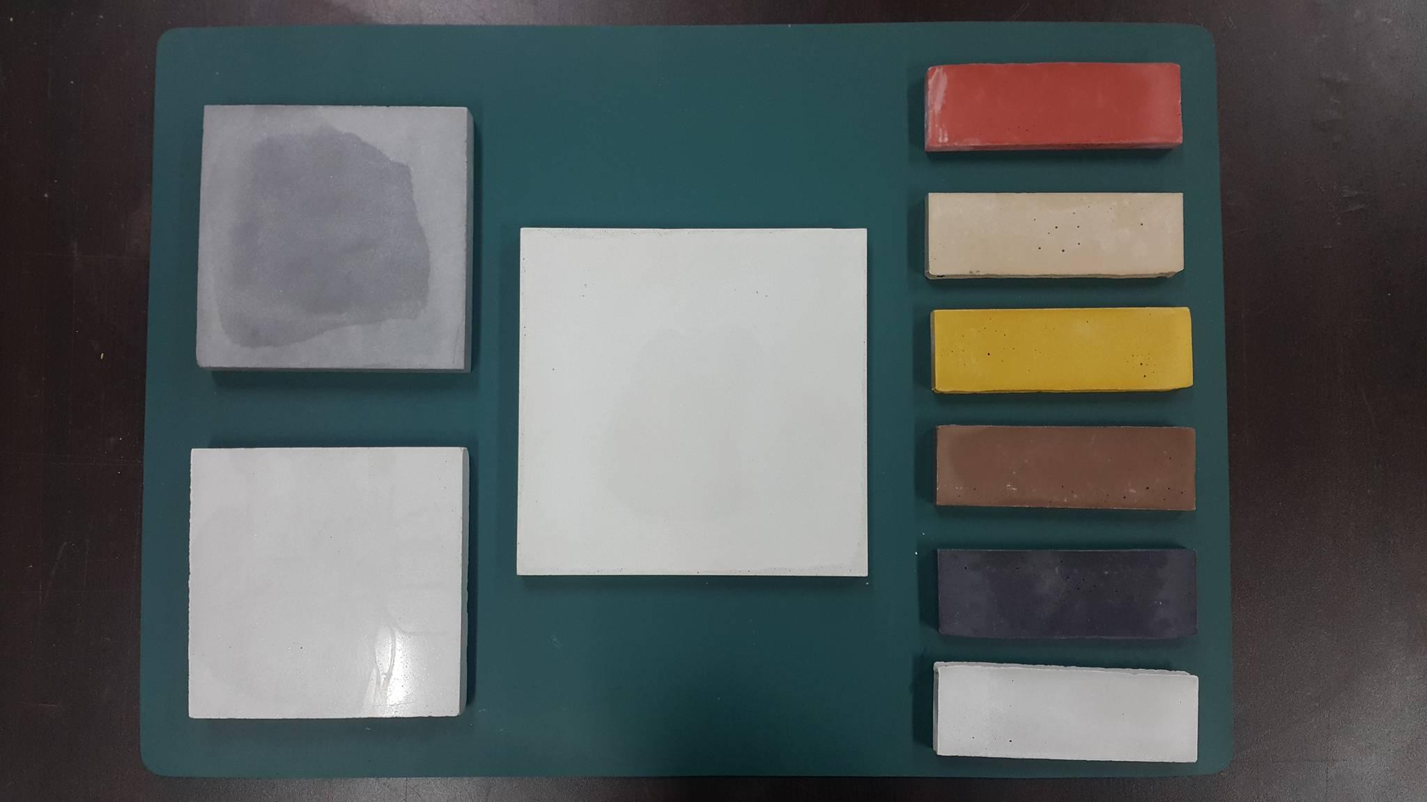 서울대 건축학과 홍성걸 교수가 올 2월 개발한 '초고성능콘크리트'. 이 콘크리트는 모양과 색상을 자유롭게 연출할 수 있다. 홍 교수는 시멘트가 필요 없는 콘크리트를 개발하기도 했다. [사진 홍성걸 교수]