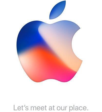 애플의 아이폰 초청장.