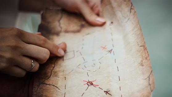 수행자에게 스승은 '지도'와 같다. 길이 막히거나 끊겼을 때 스승은 방향을 일러준다. 세 명의 스승에게서 길을 찾지 못한 싯다르타는 아무런 지도도 없이 수행의 길을 떠나야 했다.
