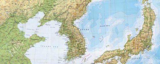 영국 'The Stack' 사이트에서 수정한 '동해' 단독표기. 한국인 고등학생이 지속해서 사이트에 이메일을 보내 이뤄낸 성과다. [중앙포토]