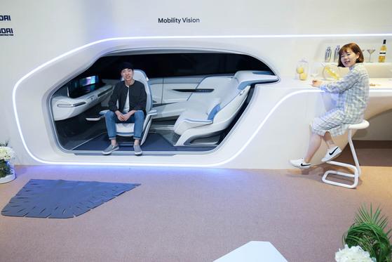자율주행차와 집이 하나로 통합된 '모빌리티 비전(Mobility Vision)'. [프리랜서 장정필]
