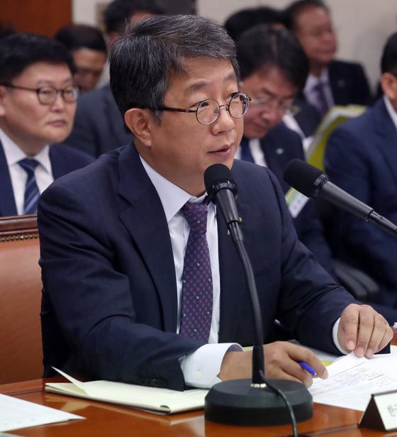 국정감사 임하는 박상우 LH 사장. [연합뉴스]