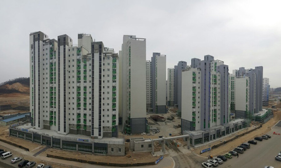 경기도 구리시의 한 공공임대 아파트. [중앙포토]