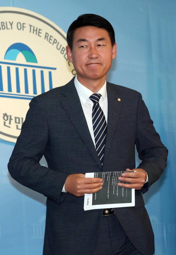 황영철 바른정당 의원. [중앙포토]