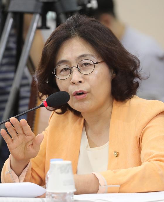 유승희 더불어민주당 의원 [중앙포토]