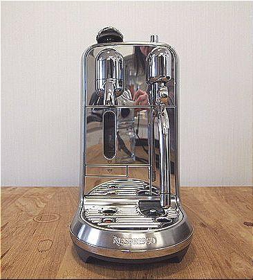 캡슐 머신이지만, 고가 커피 머신 못지 않은 위용을 갖춘 크리아티스타. 유지연 기자