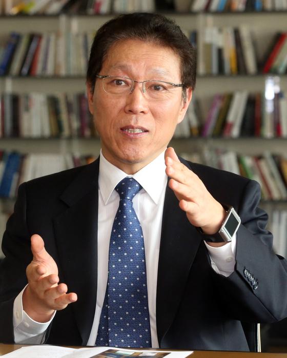 김태유 서울대 교수.