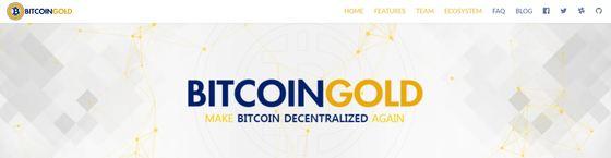 출처: 비트코인골드 공식 홈페이지(btcgpu.org)