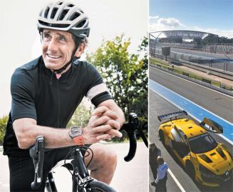 [江南人流]F1 챔피언 카레이서가 '자전거 시계'만든 까닭