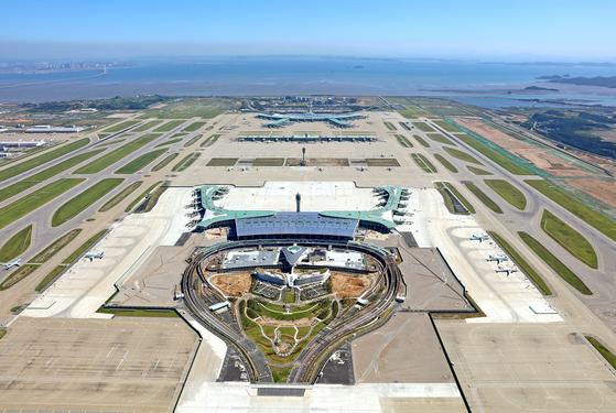 인천공항 제2여객터미널이 내년 1월 18일 개장한다. [연합뉴스]