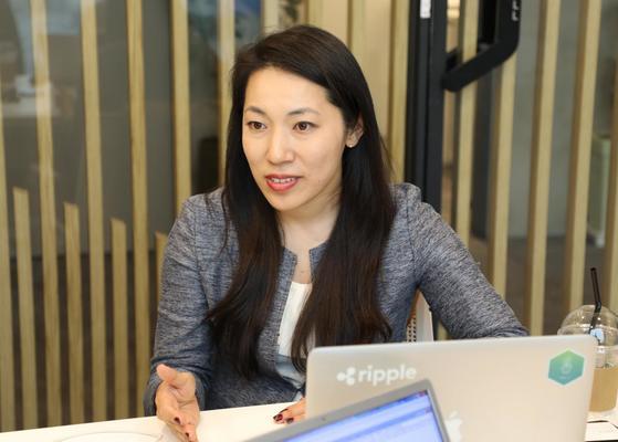 에미 요시카와 리플 조인트 벤처 파트너십 이사. 사진: 코인원