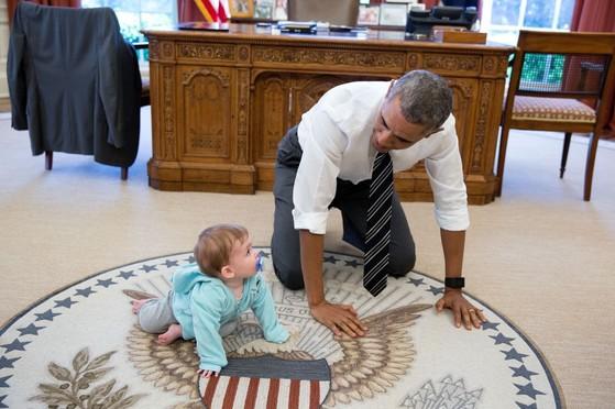오바마 전 미국 대통령은 공감능력이 매우 뛰어난 리더로 유명하다. [백악관]