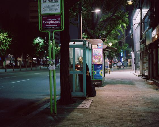노기훈, Garwol-dong_yongsan_Seoul, transparency in lightbox, 80×100cm, 2014