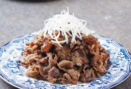 미국산 소고기 불고기 요리