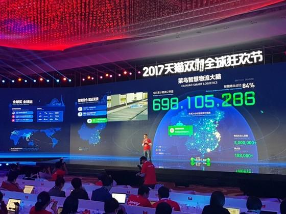 차이냐오는 지난 11월 11일 하루 7억건이 넘는 배송 주문을 처리했다. [출처: 차이나랩]