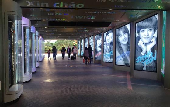 지난 9일, 유커가 돌아오지 않은 가운데 서울 시내 한 면세점 앞이 한산하다. [사진 연합뉴스]