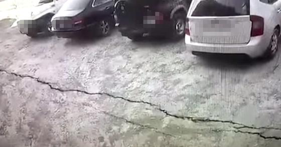 SNS에 올라온 경북 포항 지진 동영상. [사진 유튜브 캡처]