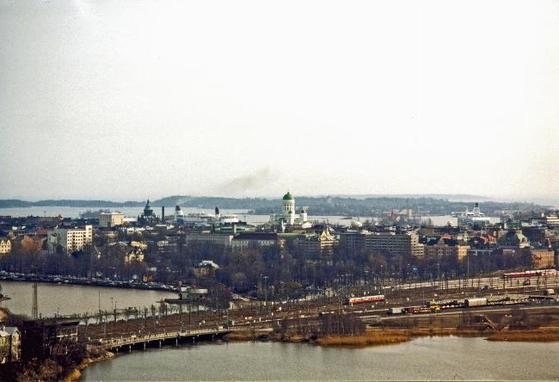 핀란드 수도 헬싱키의 모습.