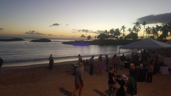2017 하와이 푸드&와인 페스티벌 메인 이벤트가 열린 11월 4일 오아후 코올리나. 안혜리 기자