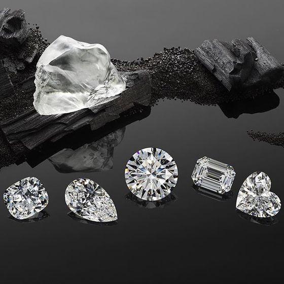 342캐럿 다이아몬드 원석으로부터 186캐럿의 다이아몬드로 재탄생되었다. [사진 쇼파드]