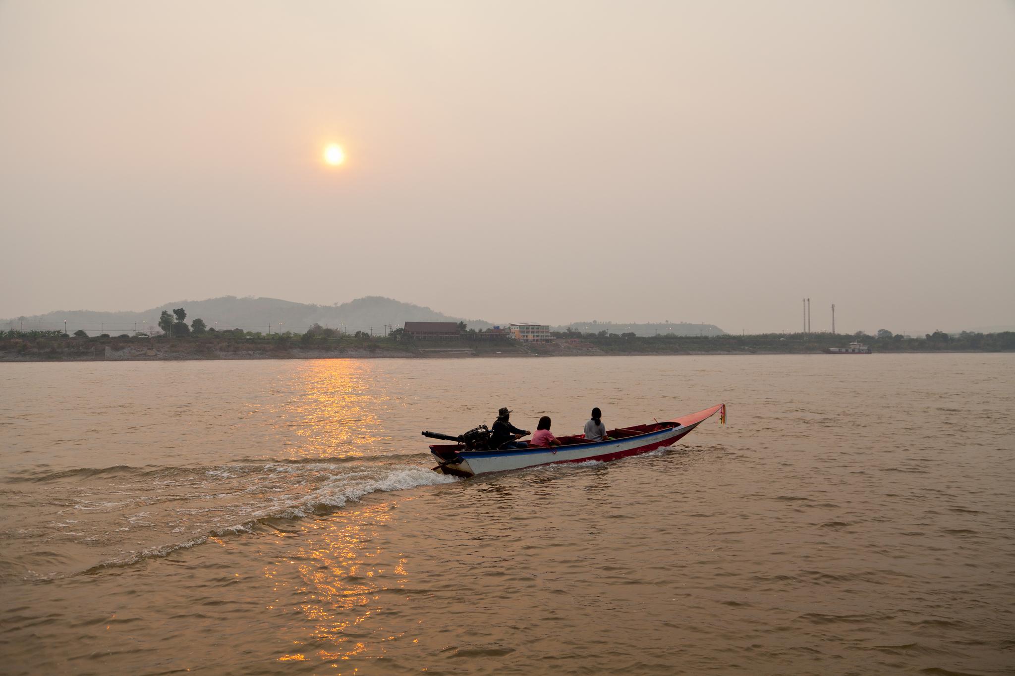 태국·라오스·미얀마가 만나는 메콩강 골든 트라이앵글. [중앙포토]