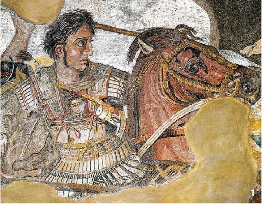 33세로 요절한 알렉산더 대왕. 말라리아 혹은 장티푸스로 사망했다는 설이 나오고 있다. [중앙포토]