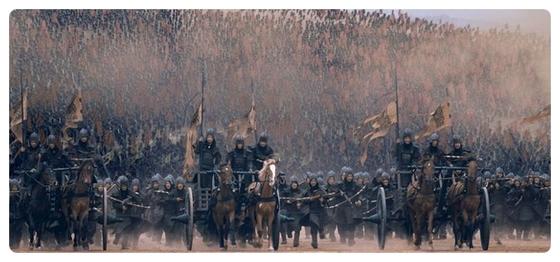 춘추전국시대는 전쟁이 끊이지 않았다. 철기의 확산으로 전쟁 기술이 발달함과 동시에 농업 생산력 또한 높아졌다. [영화 공자]