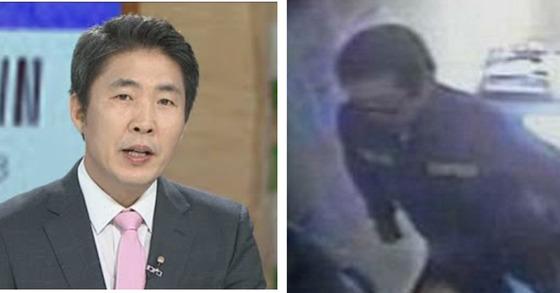 이웅혁 건국대 경찰학과 교수. 오른쪽은 조두순이 교도소에 있는 모습[연합뉴스TV, 중앙포토]
