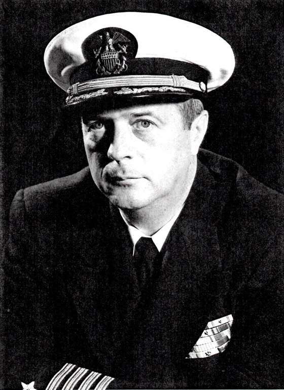 제복을 입은 마이클 루시 대령. [사진 해군]