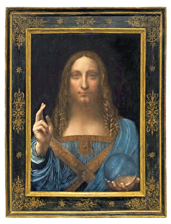다빈치의 예수 초상화 '살바토르 문디' [중앙포토]