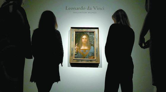 살바토르 문디는 다빈치의 그림 중 개인이 소장한 거의 유일한 작품이다. [REUTERS=연합뉴스]