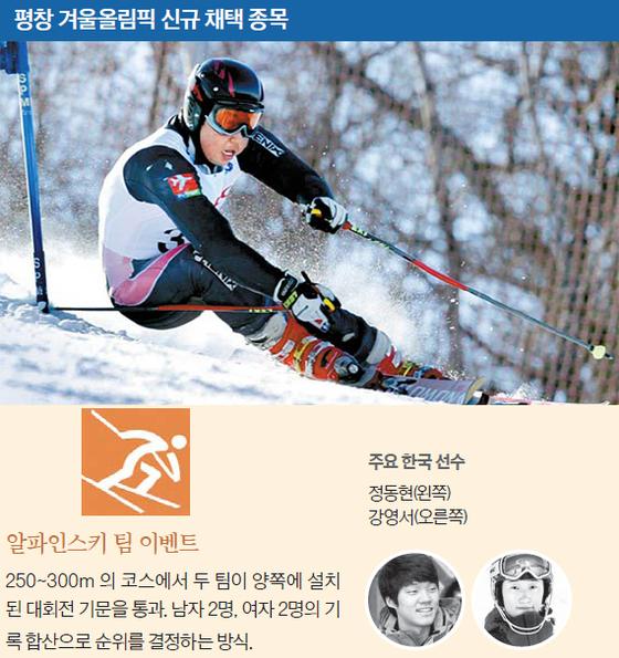 평창 겨울올림픽 신규 채택 종목