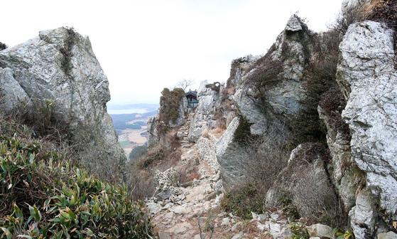 해남 달마산의 명소 중 한 곳인 도솔암 전경. 프리랜서 장정필