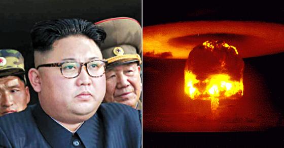북한이 핵실험 이미지 사진.[중앙포토]