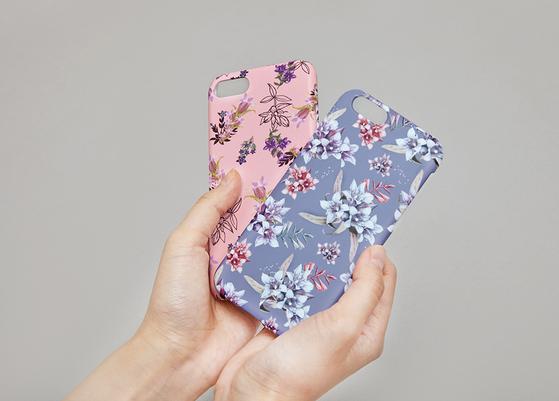 마리몬드 휴드폰 케이스. 이 휴대폰 케이스를 선물하면 위안부 할머니를 돕기 위한 기금 마련에 동참하게 된다. 가격 2만5000원. [사진 마리몬드]