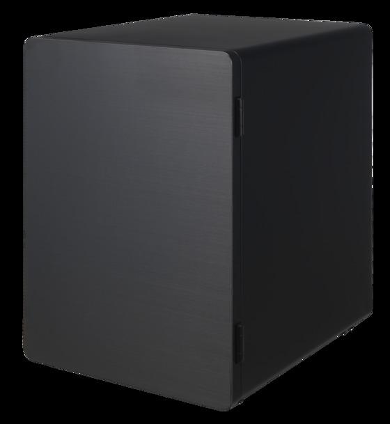 더캐시미어띵스와 신성금고가 협업해 만든 '에이치-큐브' 금고. 군더더기 없는 디자인이 인테리어 오브제로도 손색 없다. 가격 별도 문의.[사진 더키시미어띵스]