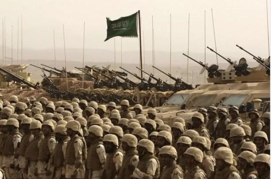 사우디 육군.