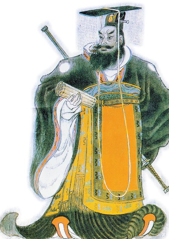 중국을 최초로 통일한 진시황. 천하를 호령했지만 죽는 것이 두려워 불로초를 찾아다녔다. [중앙포토]
