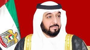 할리파 빈 자이드 알나흐얀. 현재 아부다비의 에미르이자 아랍에미리트의 대통령이다. 2014년 뇌졸중으로 제대로 공개 활동을 하지 않고 있다.