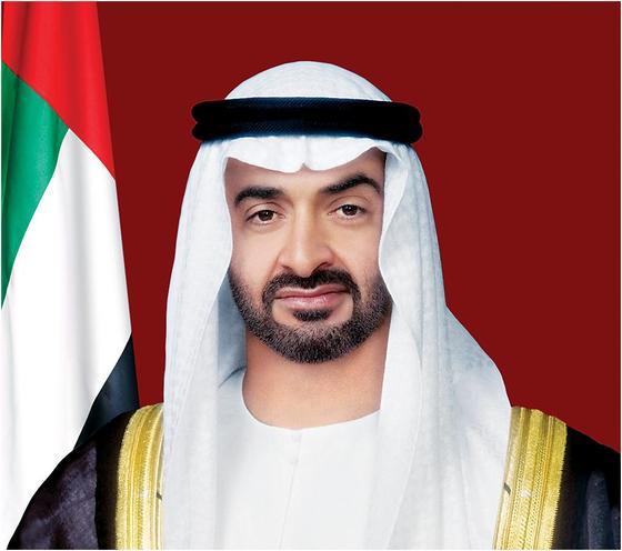 아부다비 왕세제로 실질적인 통치자인 무함마드 빈 자이드 알나하얀 .