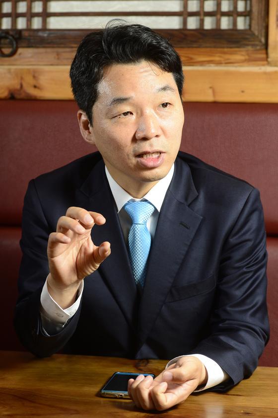 더불어민주당 김병관 의원.[중앙포토]