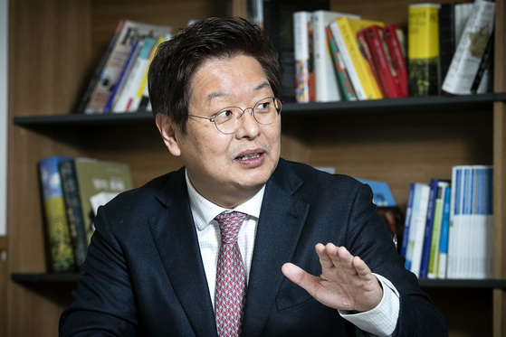 진창수 세종연구소 소장. 장진영 기자