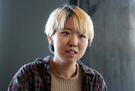 조소담 닷페이스 대표가 1일 서울 홍제동 사무실에서 중앙일보와 인터뷰 했다.