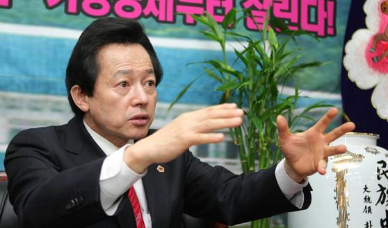 경제공화당 허경영 전 대선후보 [중앙포토]