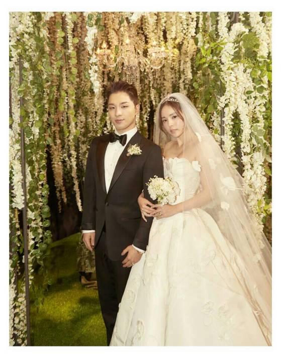 태양 민효린 결혼식.