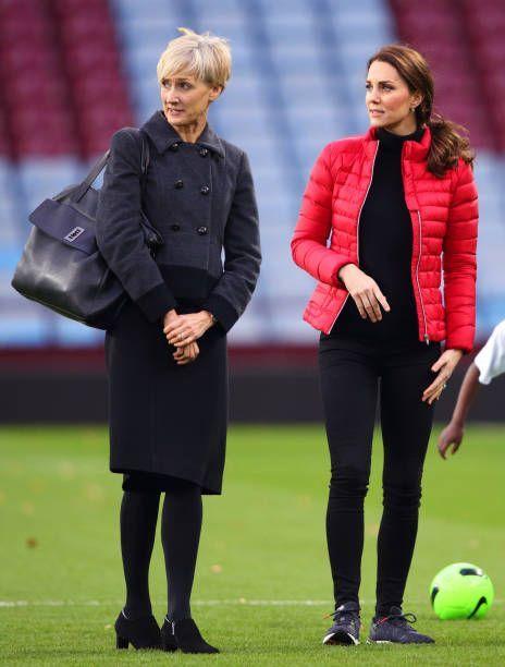 지난해부터 캐서린 미들턴 왕세손빈(오른쪽)의 개인비서를 맡고 있는 캐서린 퀸.
