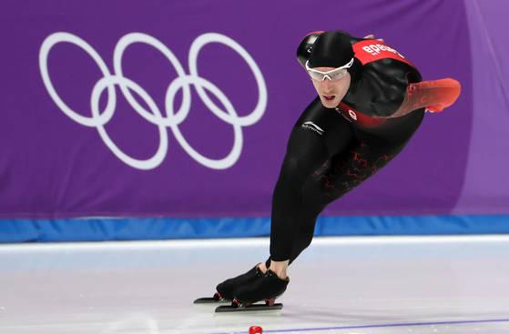 남자 1만m에서 올림픽 기록을 세우며 네덜란드의 전종목 석권을 저지한 블로먼. [강릉=연합뉴스]