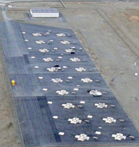 알래스카 포트 그릴리에 배치된 지상발사 요격미사일(GBI). [사진 MDA]