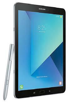 갤럭시 탭 S3는 활용성이 뛰어난 'S펜'과 특화된 엔터테인먼트 기능을 갖추고 있다.